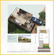 Paramount Villa Floor Plan 1742 Sqft
