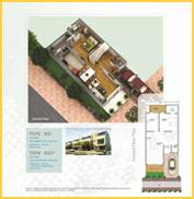 Paramount Villa Floor Plan 2220 Sqft